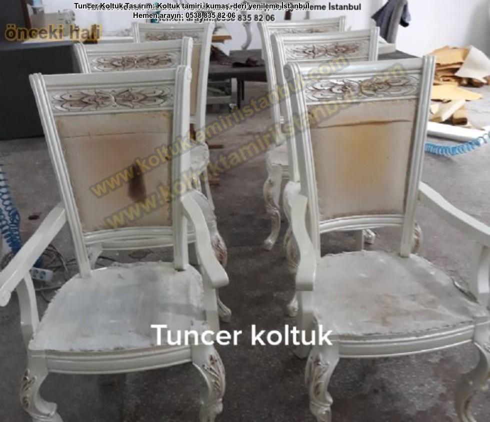 Klasik Solan Sandalye Yüz Değişimi