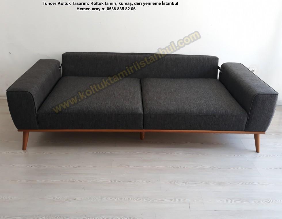 Leather Sofa Models, Modern Yataklı Kanepeler