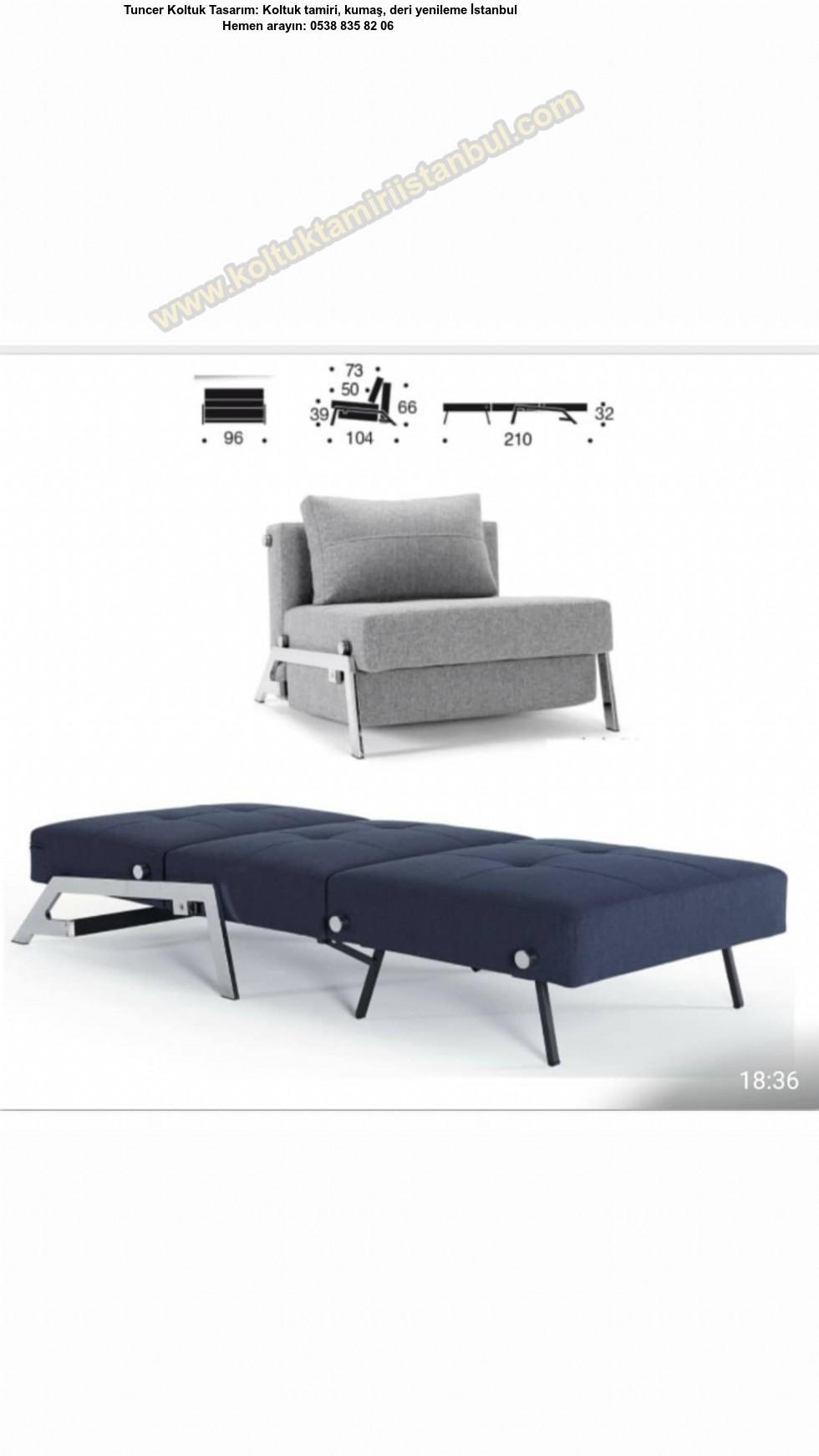 Yataklı Tekli Koltuk, Tek Kişilik Model Üretim