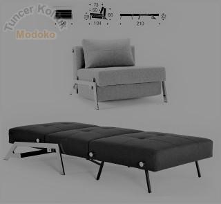 Tekli Koltuk Modeller Modern Yataklı Modeli